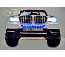 Фото бампера электромобиля RiverToys BMW T005TT White