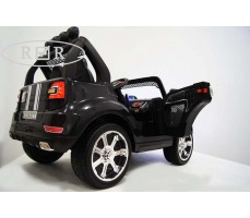 Фото электромобиля RiverToys BMW T005TT Black вид сзади