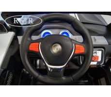 Фото руля электромобиля RiverToys BMW T005TT Black