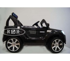 Фото электромобиля RiverToys BMW T005TT Black вид сбоку