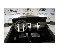 Фото водительского места детского электромобиля TOYOTA TUNDRA JJ2255 Black
