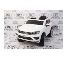Электромобиль River Toys Volkswagen Touareg White
