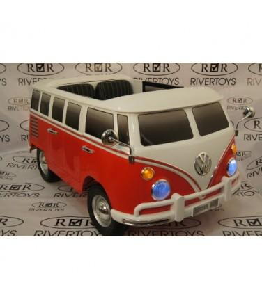 Электромобиль River Toys Volkswagen X444XX Red | Купить, цена, отзывы