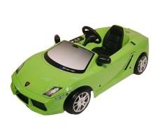 Детский электромобиль Toys Toys Lamborghini Gallardo Green
