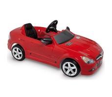 Детский электромобиль Toys Toys Mercedes SL500 Red