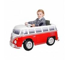 Электромобиль Volkswagen W 487 Red с ребёнком