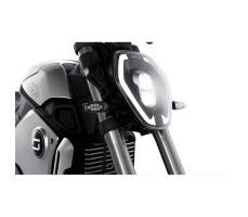 фото передней фары электромотоцикла Soco 1200W