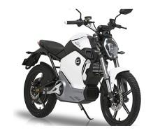 фото электромотоцикла Soco 1200W White спереди