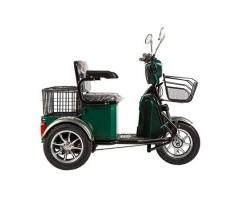 Трицикл S1 V2 с большой корзиной Green