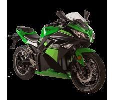 Электромотоцикл SKYBOARD Moto 6000W Dark Green