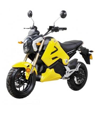 Электромотоцикл Wellness Emoto Yellow | Купить, цена, отзывы