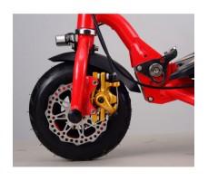 Фото переднего колеса электросамоката El-Sport SMART 300L RED