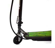 Электросамокат El-sport Charger 120W вид на переднее колесо и деку