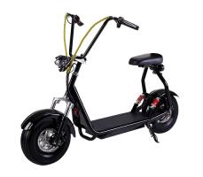 Электроскутер EL-Sport Mini Citycoco 800W 48V/20Ah Black