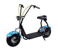Электросамокат EL-Sport Mini Citycoco 800W 48V/20Ah Blue Khaki