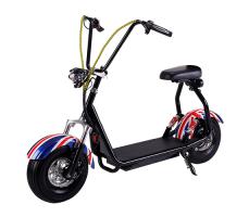 Электросамокат EL-Sport Mini Citycoco 800W 48V/20Ah Flag
