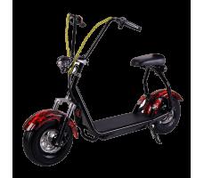Электросамокат EL-Sport Mini Citycoco 800W 48V/20Ah Flame