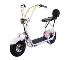 Электроскутер EL-Sport Mini Citycoco 800W 48V/20Ah White