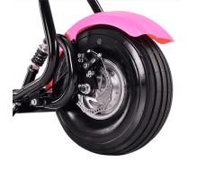 Фото заднего колеса электросамоката EL-Sport Mini Citycoco 800W 48V/12Ah