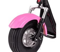 Фото переднего колеса электросамоката EL-Sport Mini Citycoco 800W 48V/12Ah