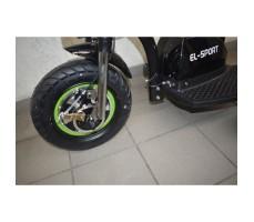 Фото переднего колеса электротрицикла EL-SPORT ZAPPY UPDATE