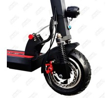 фото колесо переднее Электросамокат Kugoo M4 PRO (48V, 16.6 Ah) Black