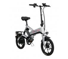 Электровелосипед Yokamura Combo Серебристый