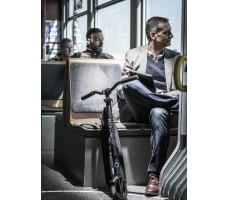Перевозка электросамокат Emicro ONE черный в общественном транспорте(автобус ,метро, троллейббус, трамвай)