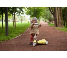 Электросамокат для детей Halten Kiddy с детьми