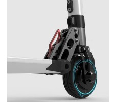 фото переднего мотор-колеса электросамоката Jack Hot Pro 2017
