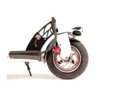 Фото переднего колеса электросамоката Kaabo Skywalker-10L 500W 48V/13Ah с сиденьем