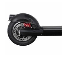 Электросамокат Kuaike К2 Black and Blue вид на заднее колесо