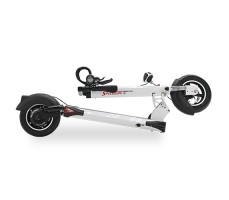 фото колес и платформы для ноги электросамоката Speedway 4 (26 AH) white