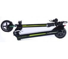 Сложенный электросамокат Mini GoGo 48V 18Ah 500W Black Green