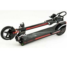 Сложенный электросамокат Mini GoGo 36V 10Ah 350W Black Red