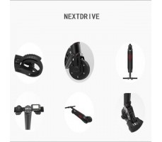 Электросамокат NextDrive Black Carbon