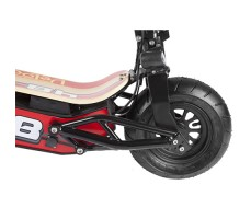 фото переднего колеса электросамоката Velocifero Mini-Mad 800W LI-ON Red