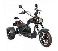 Электроскутер SKYBOARD TRIKE CHOPPER-4000 PRO FAST Чёрный