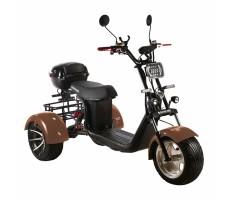 Электроскутер SKYBOARD TRIKE BR60-3000 PRO FAST Коричневый