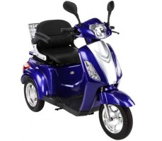 Электроскутер TRIKE Round Light Blue