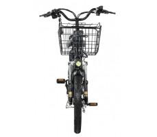 Электровелосипед WHITE SIBERIA CAMRY 1500W вид спереди