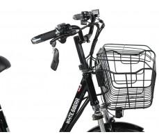 Электровелосипед WHITE SIBERIA CAMRY 1500W корзина