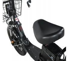 Электровелосипед WHITE SIBERIA CAMRY 1500W сиденье