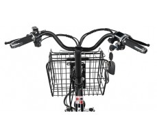 Электровелосипед WHITE SIBERIA CAMRY 1500W руль