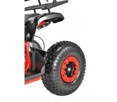 Электроквадроцикл WHITE SIBERIA SNEG 1500w колесо