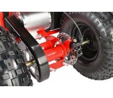 Электроквадроцикл WHITE SIBERIA SNEG 1500w редуктор
