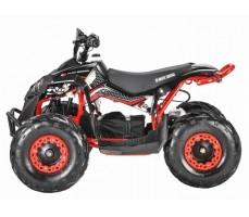 Электроквадроцикл WHITE SIBERIA SNEG R 1500w вид сбоку