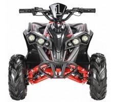 Электроквадроцикл WHITE SIBERIA SNEG R 1500w вид спереди
