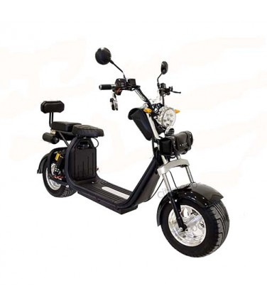 Электроскутер Citycoco BR 40 Premium Black | Купить, цена, отзывы