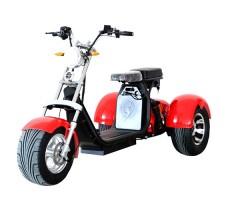 Электроскутер Citycoco Trike Red